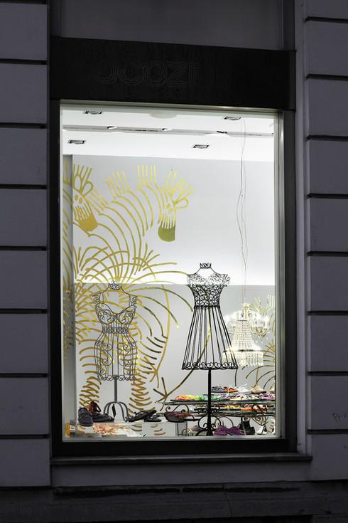studio db ai art deco fashion boutique visual  merchandising