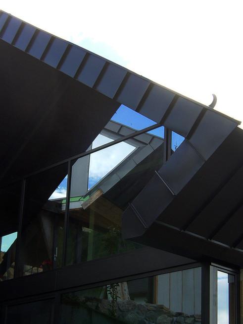studio db ai amphibian house luxury hillside design
