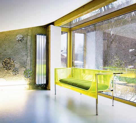 studio db ai atrium interior design lounge