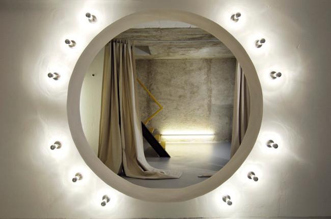studio db ai atrium interior design rammed earth design