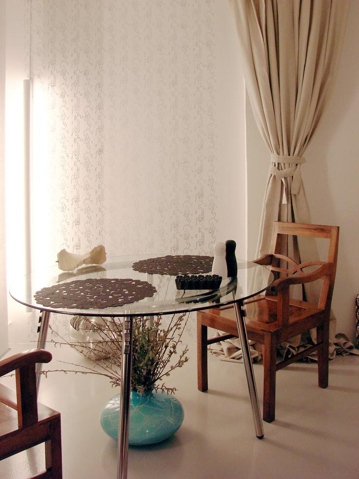 studio db ai labyrinth apartment architecture table dinning design