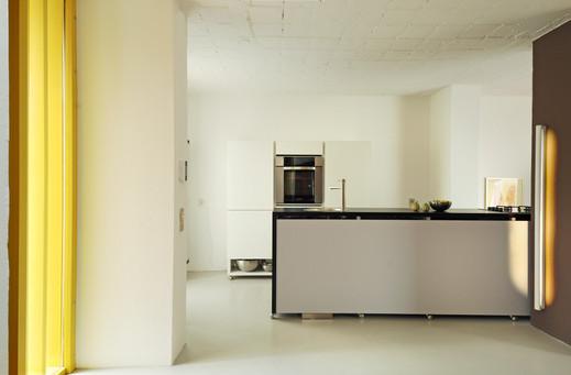 studio db ai interior U contemporary kitchen design