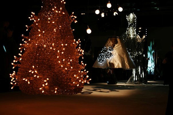 studio db ai chandelier light electrodoll decorative crochet light