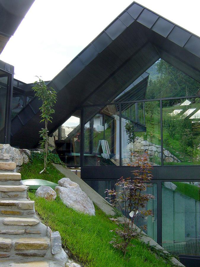 studio db ai amphibian residential luxury hillside architecture