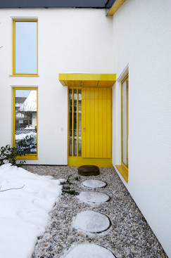studio db ai luxury house home atrium entrance design