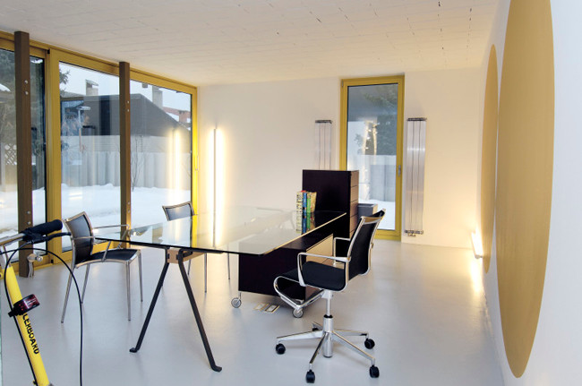 studio db ai atrium interior design A home office design