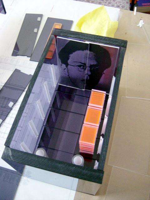 studio db ai monument srecko kosovel model making (3)