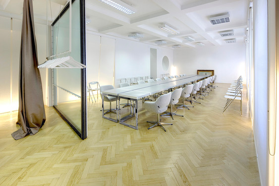 studio db ai official office design Imad conference table design