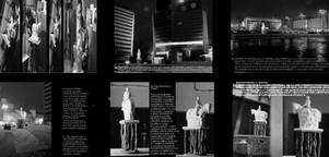 studio db ai hologram monument