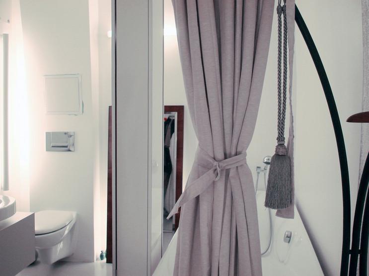 studio db ai labyrinth apartment architecture open bathroom design