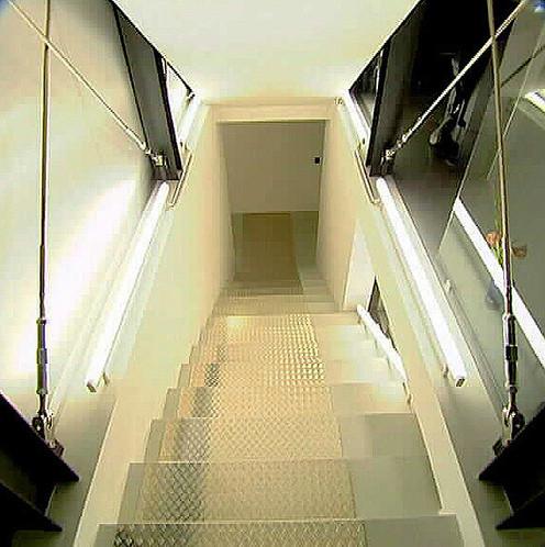 studio db ai house D1 central staircase