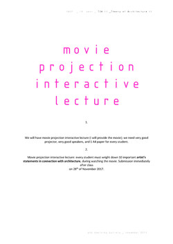 toa II_movie interactive lecture_Industr