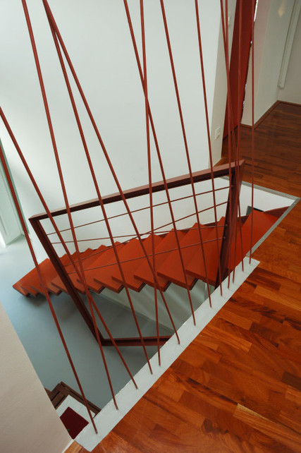 studio db ai house 4002 open stairs