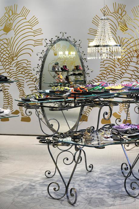 studio db ai art deco fashion boutique art deco crystal chandelier