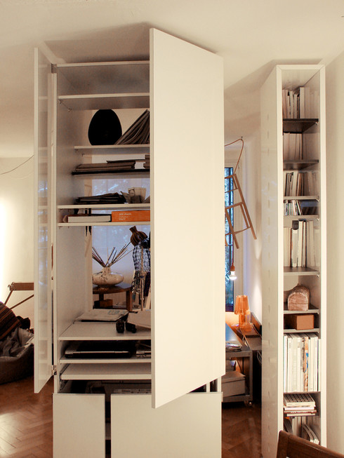 studio db ai labyrinth apartment architecture home office design