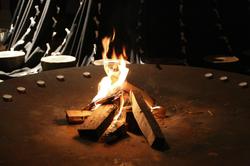 ne elektrika - ogenj in sveče!