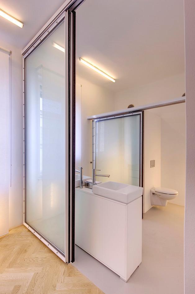 studio db ai official office design Imad luxury  restroom design