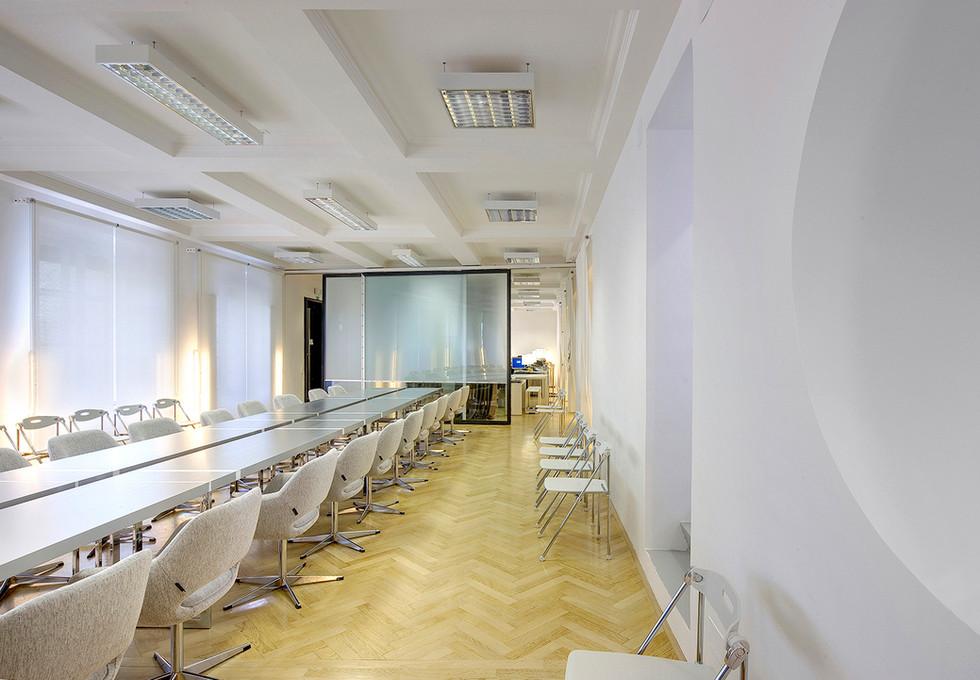studio db ai official office design Imad conference room design
