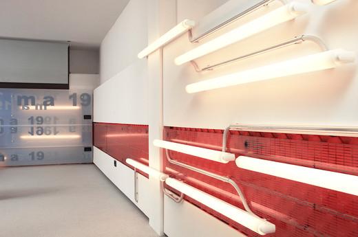 studio db ai youth suite MA19 illuminating interior wall