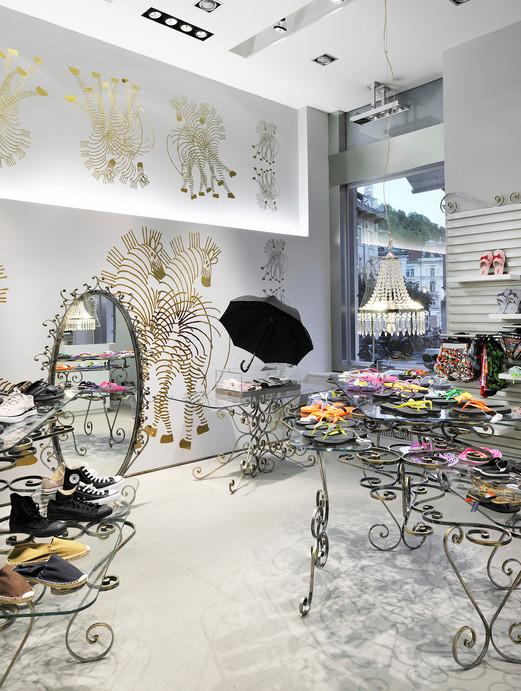 studio db ai art deco fashion boutique architectural design