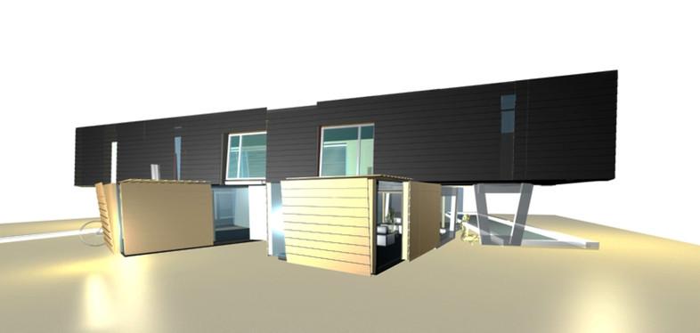 studio db ai house of two lamellas