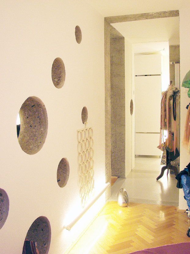 studio db ai labyrinth apartment architecture perforated wall design