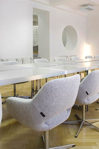 studio db ai official office design Imad conference armchair design