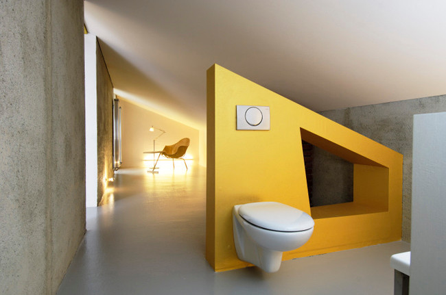 studio db ai atrium interior design A best toilet on earth