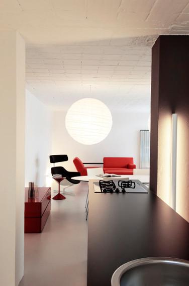 studio db ai atrium interior design A contemporary kitchen design