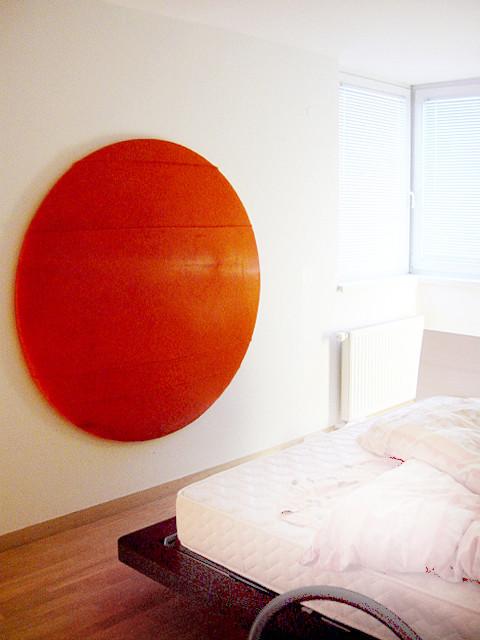 studio db ai penthouse b 07 upholstered wall element