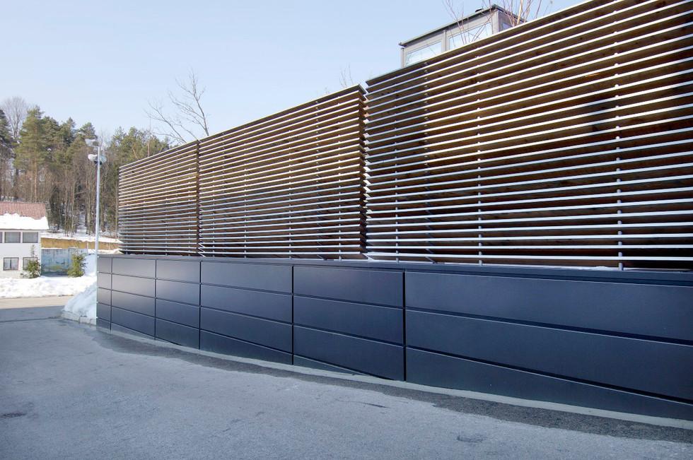 studio db ai youth suite MA19 larch wood facade design