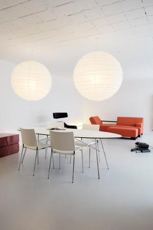studio db ai atrium interior design A contemporary dinning design