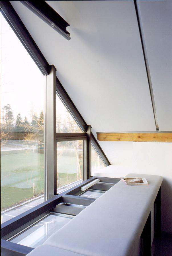 studio db ai house D1 bedroom glass facade