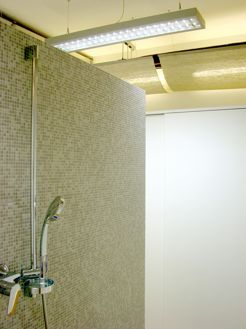 studio db ai office architecture pp 9002 office bathroom
