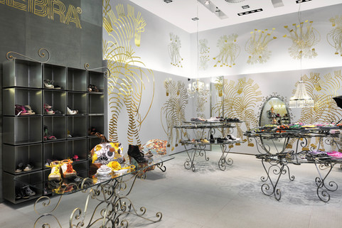 studio db ai art deco fashion boutique design art deco custom made retail furniture design