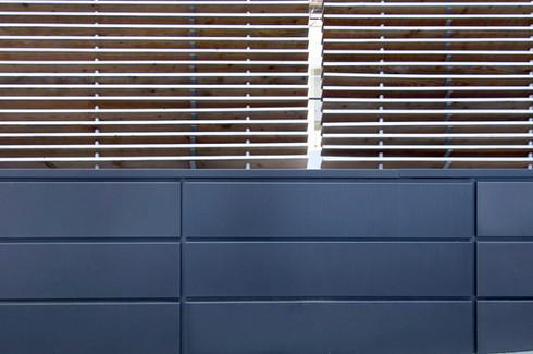 studio db ai youth suite MA19 timber cladding facade design