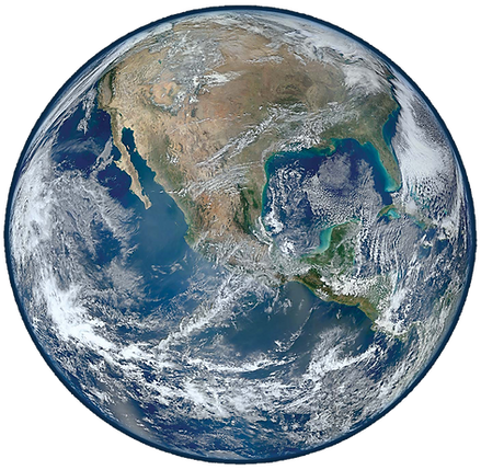 Earth-satellite-NASA-Suomi-National-2012