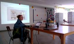 Dominika Batista PhD at lecture