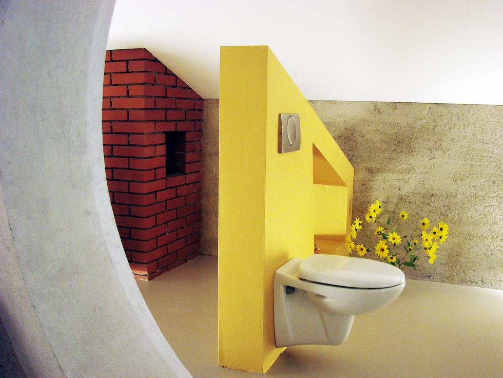 studio db ai interior U happy toilet