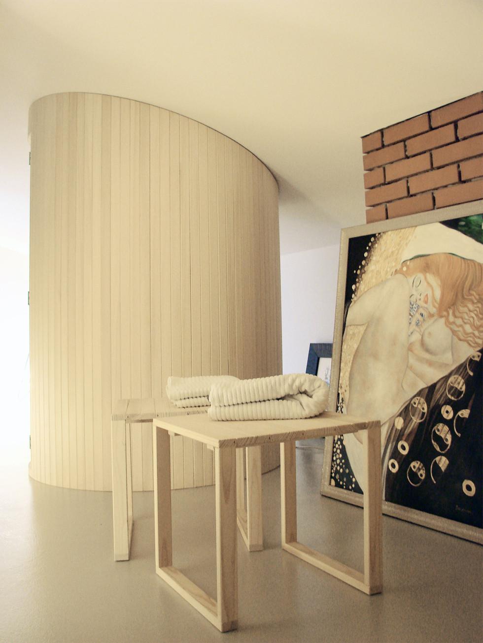 studio db ai wellness sauna design custom designed