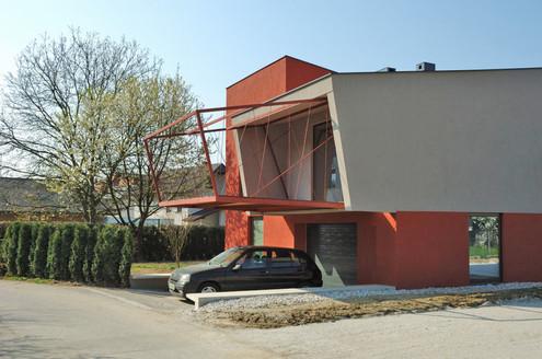 studio db ai house 4002 overhanging terrace design