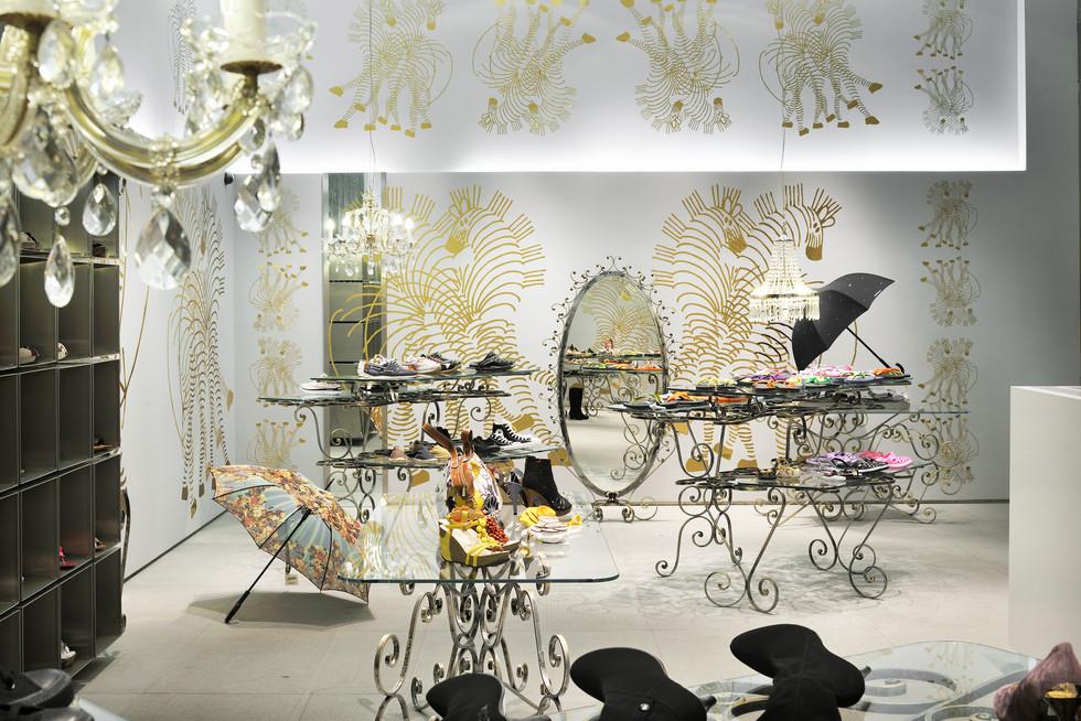 studio db ai art deco fashion boutique luxury fashion store