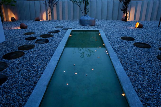 studio db ai atrium water garden magical water mirror 1