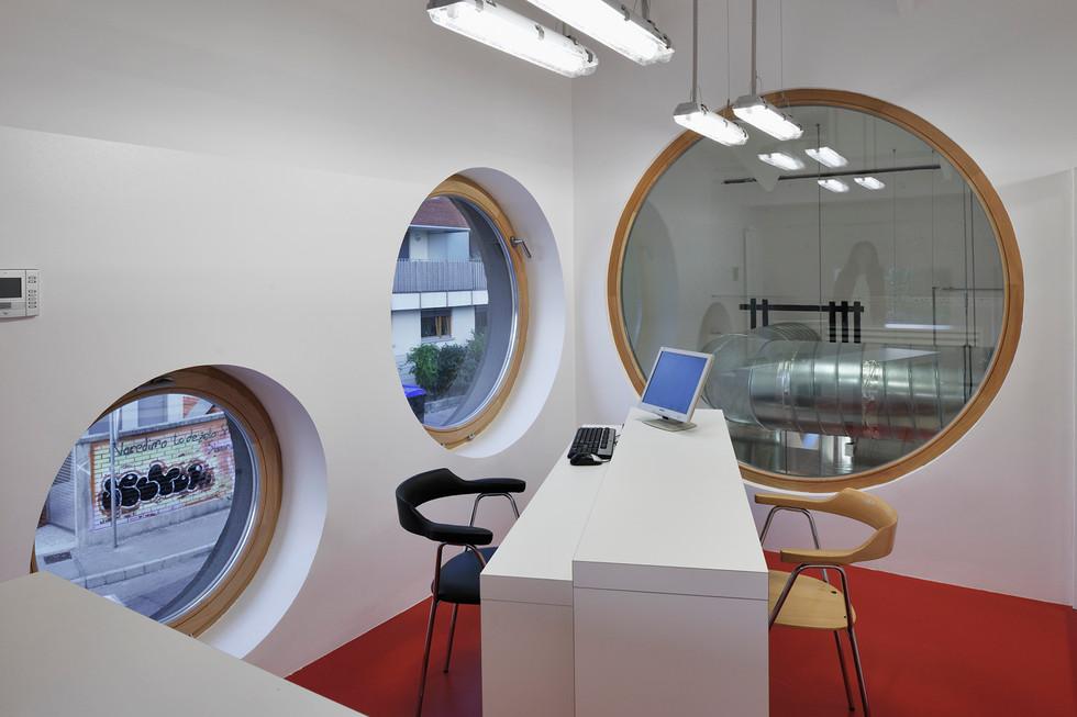 studio db ai School kitchen architecture school office design