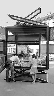 studio db ai timeless urban kiosk
