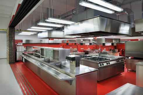 studio db ai School kitchen architecture organic cookery school