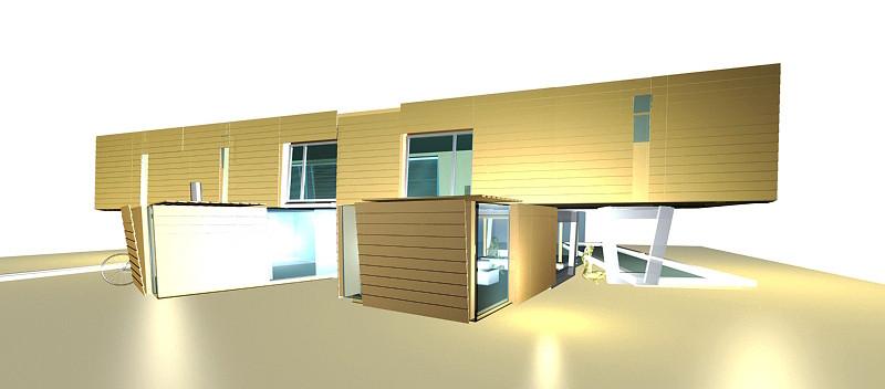 studio db ai house of two lamellas green living