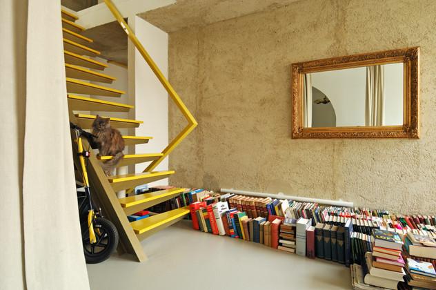 studio db ai interior U home library design