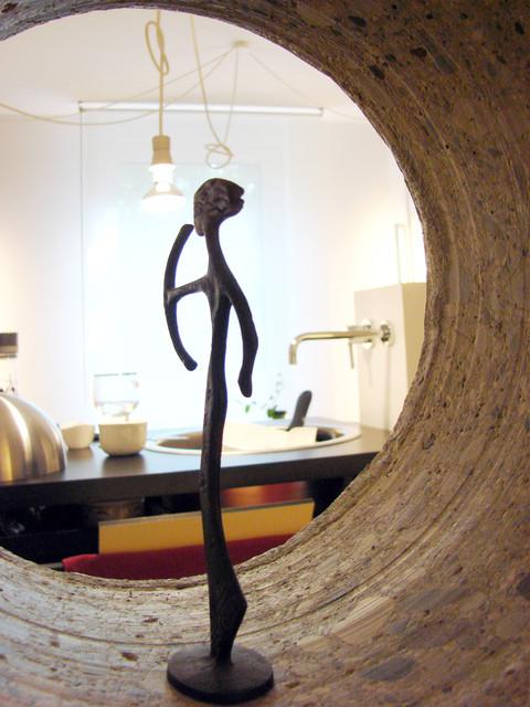 studio db ai labyrinth apartment design eating sanctuary design