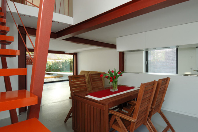 studio db ai house 4002 duplex dining room design